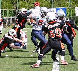 Games against Stockholm (c) Moscow Patriots